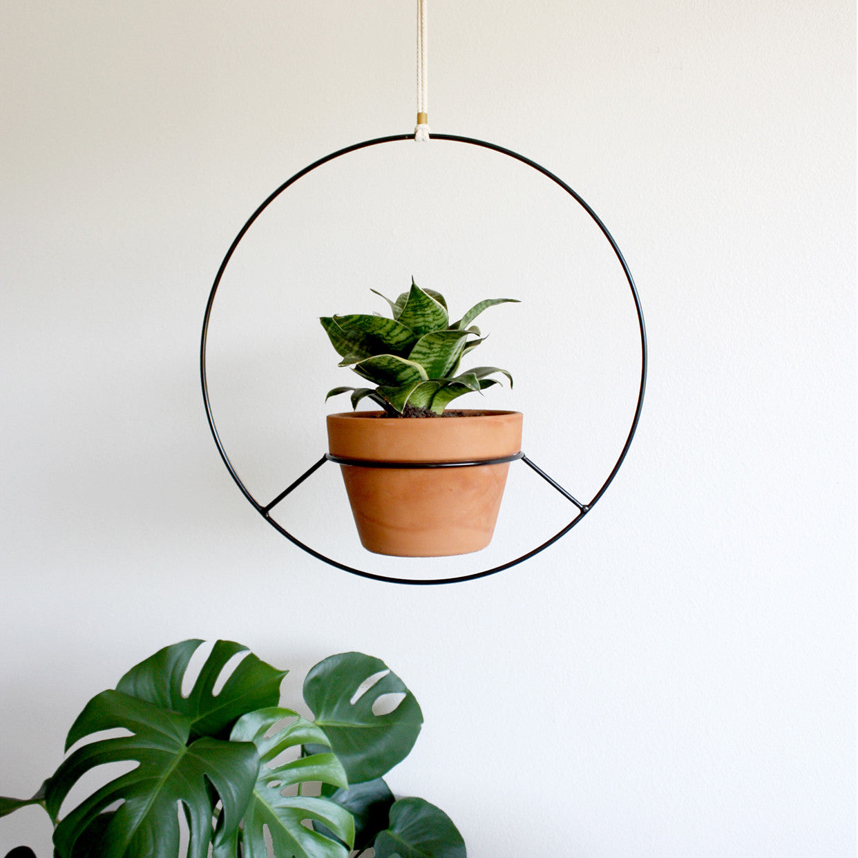 Hanging Plant Holder Norwegian Wood