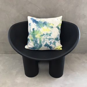 "20x20 Square - African Mudcloth Pillow Cover -  ""Tie Dye I"""