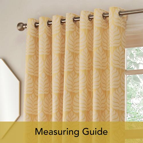 Measuring Guide: Eyelet Curtains
