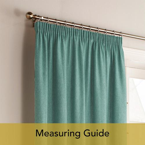 Measuring Guide: Pencil Pleat Curtains