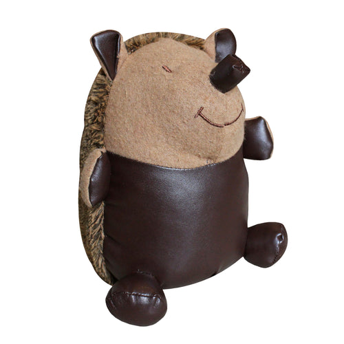 Image of the Hedgehog Novelty Door Stop | Brown | Essentials