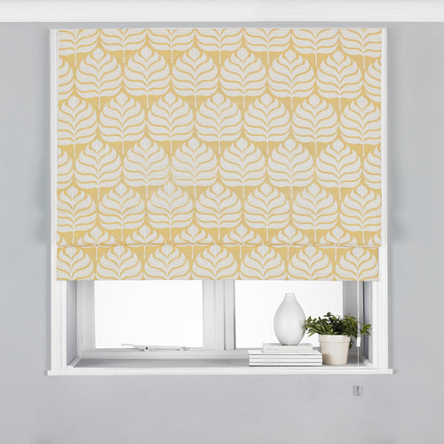Image of the Horto Botanical Roman Blind | Ochre | Paoletti