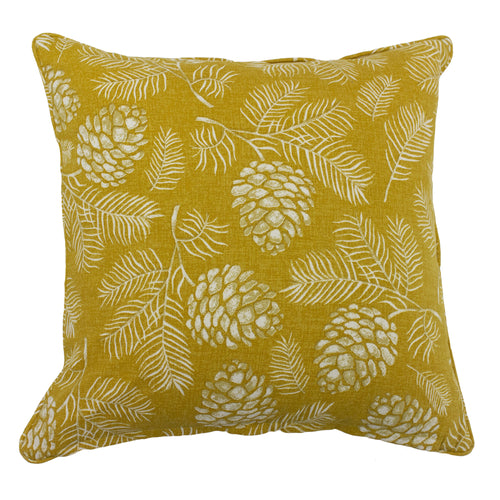 Image of the Irwin Woodland Cuhion Cover | Mustard | furn.