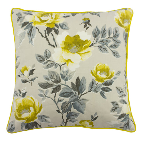 Image of the Peony Country Floral Cuhion Cover | Ochre | furn.
