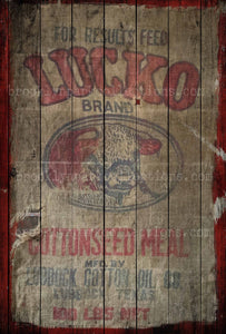 Cow Feed Sack, Sign, Farmhouse, SUBLIMATION TRANSFER, Ready To Press, pillow, fabric, flags - Brooklyn Park Collections LLC