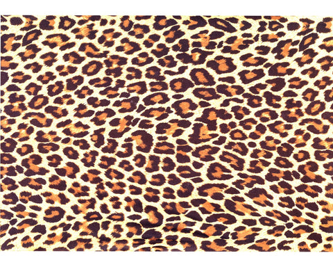 Leopard Cheetah, Animal Print, Pattern Sheet, SUBLIMATION TRANSFER, Ready To Press, - Brooklyn Park Collections LLC