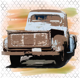 Vintage Truck, Fall Colors, Instant Digital Download,  Clip Art, Sublimation PNG, Print, Autumn - Brooklyn Park Collections LLC