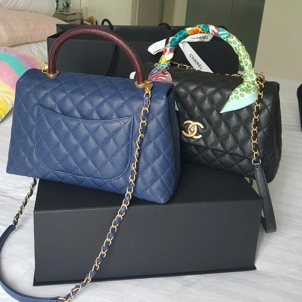 Currently Crushing On  The Chanel Coco Top Handle Bag 49f3b3b4ead0a