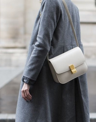1901bd40f91f ... Box bag is a perfect start. By  Isabel de Carteret