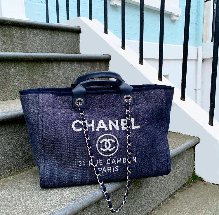 1b3fb2339ca109 The Chanel Deauville In All Her Glory | Bagista
