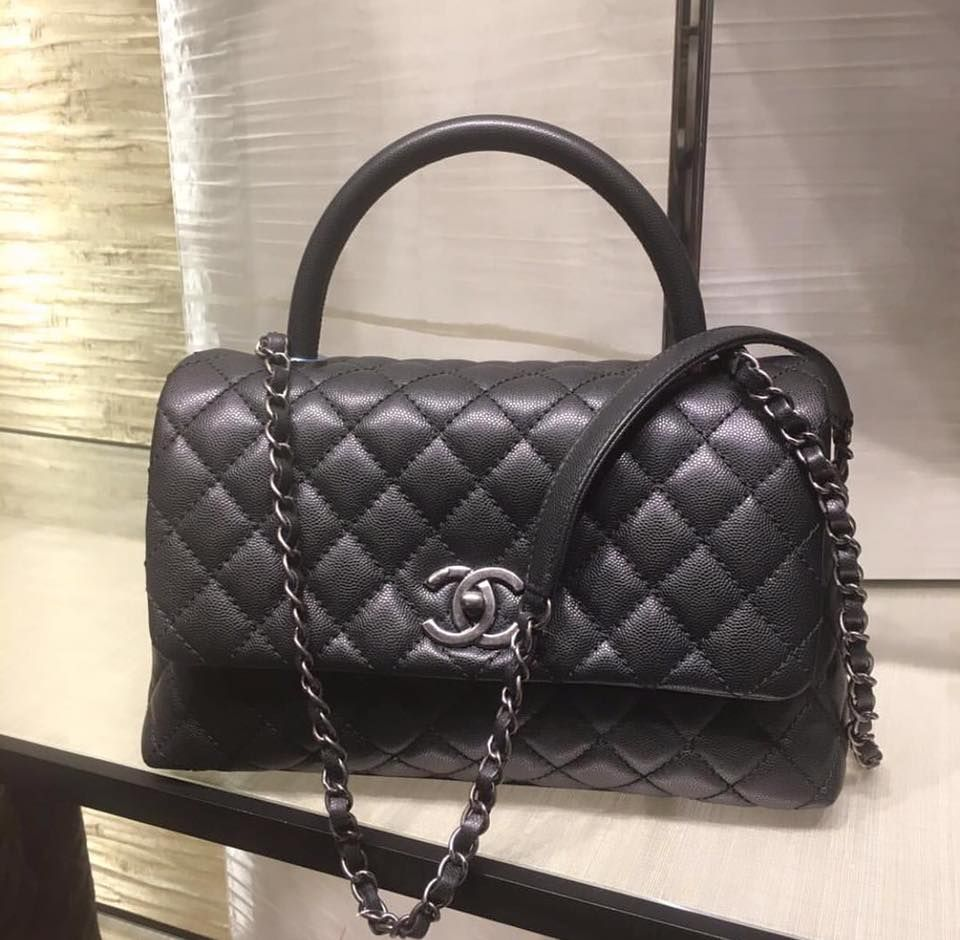 88ef5db1b5cbd2 Currently Crushing On: The Chanel Coco Top Handle Bag | Bagista