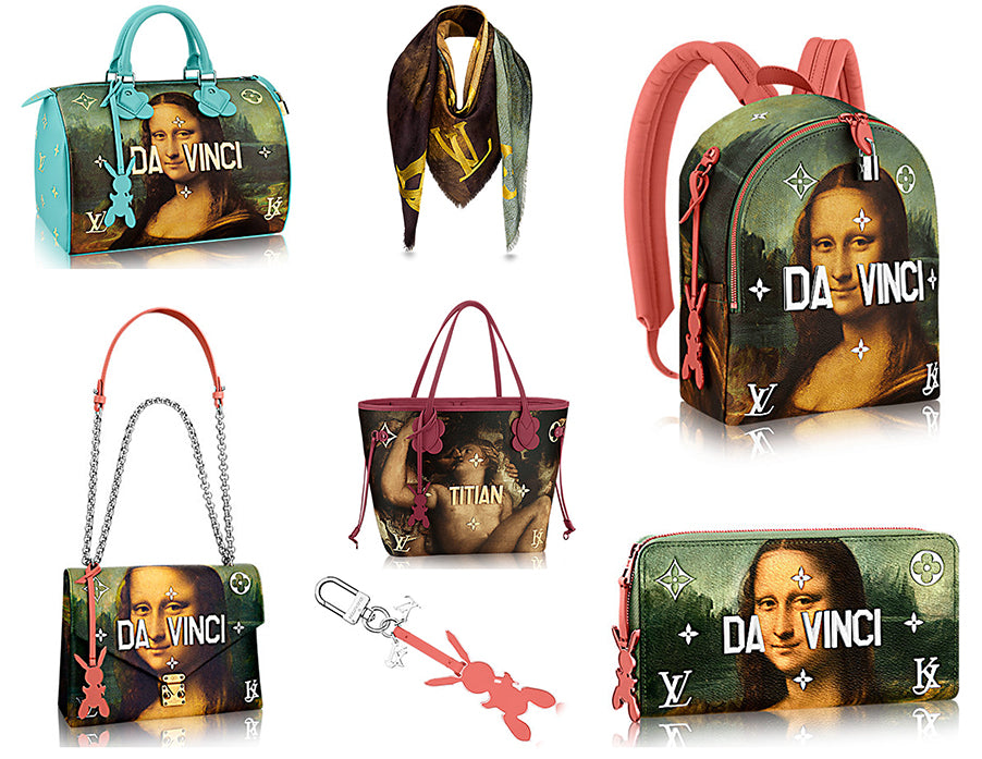 64877dadc2d4 Louis Vuitton x Jeff Koons Masters Collection