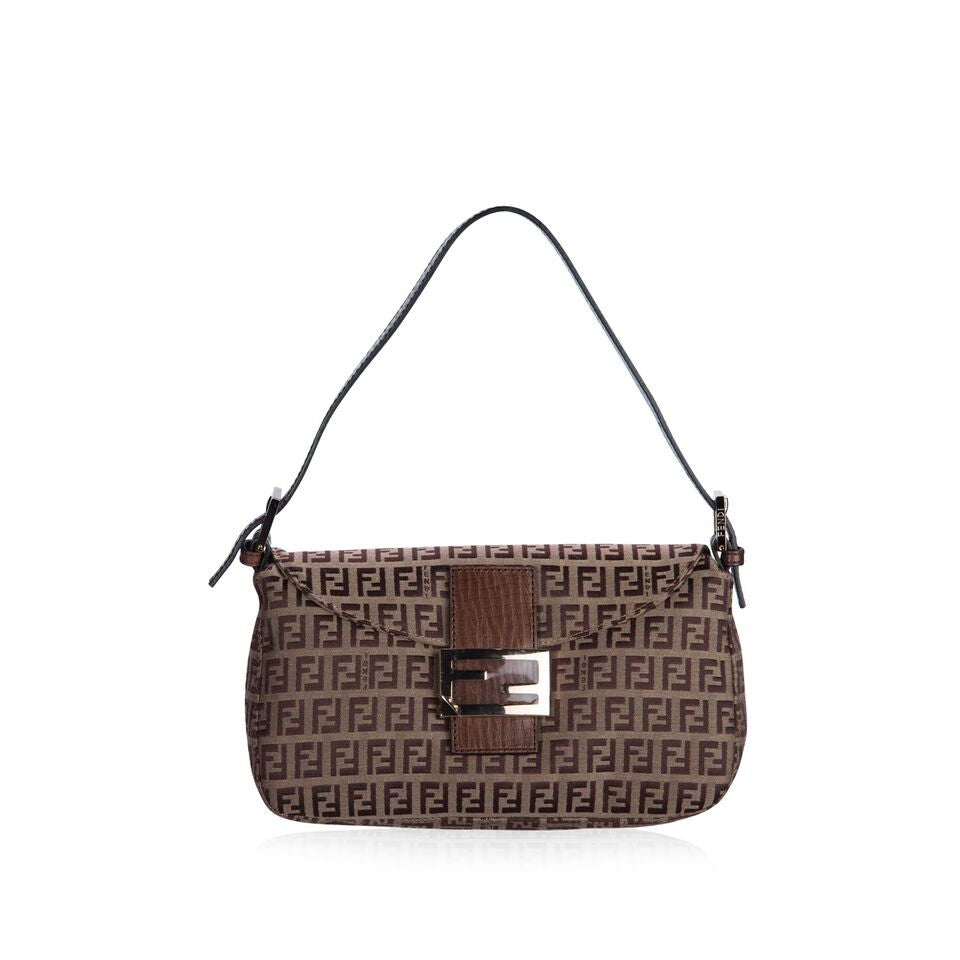 Signature Monogram Shoulder Bag