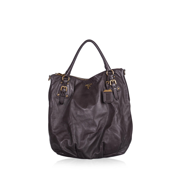 Bruciato Cervo Leather Bauletto