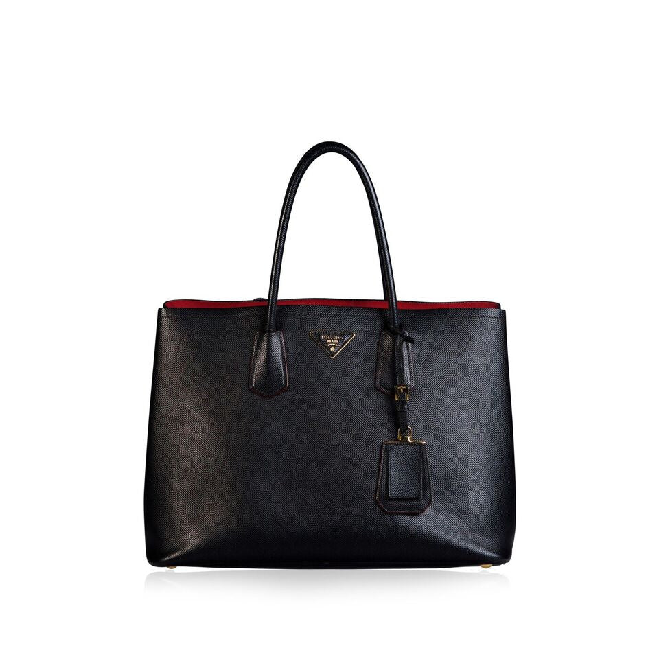 Saffiano Cuir Double Bag