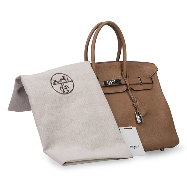 Birkin 35 - Natural Clemence Leather Birkin 35 - Natural Clemence Leather 6c82605d58c12