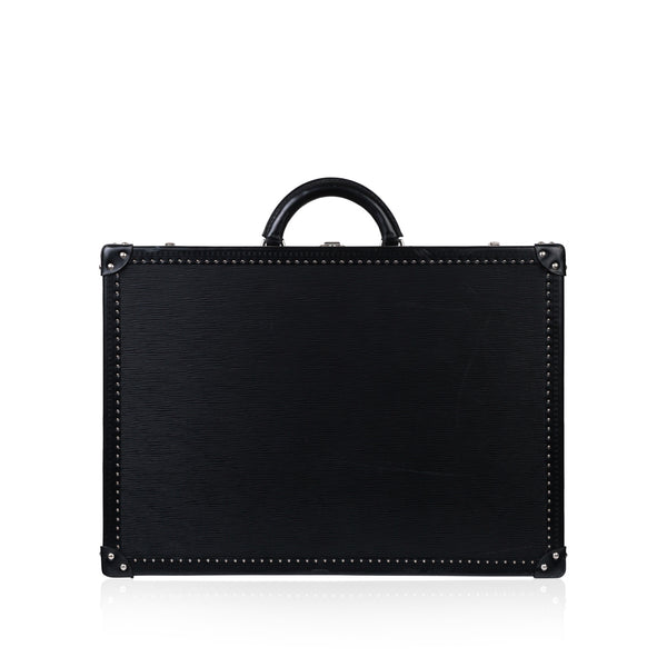 Epi Black Leather Suitcase