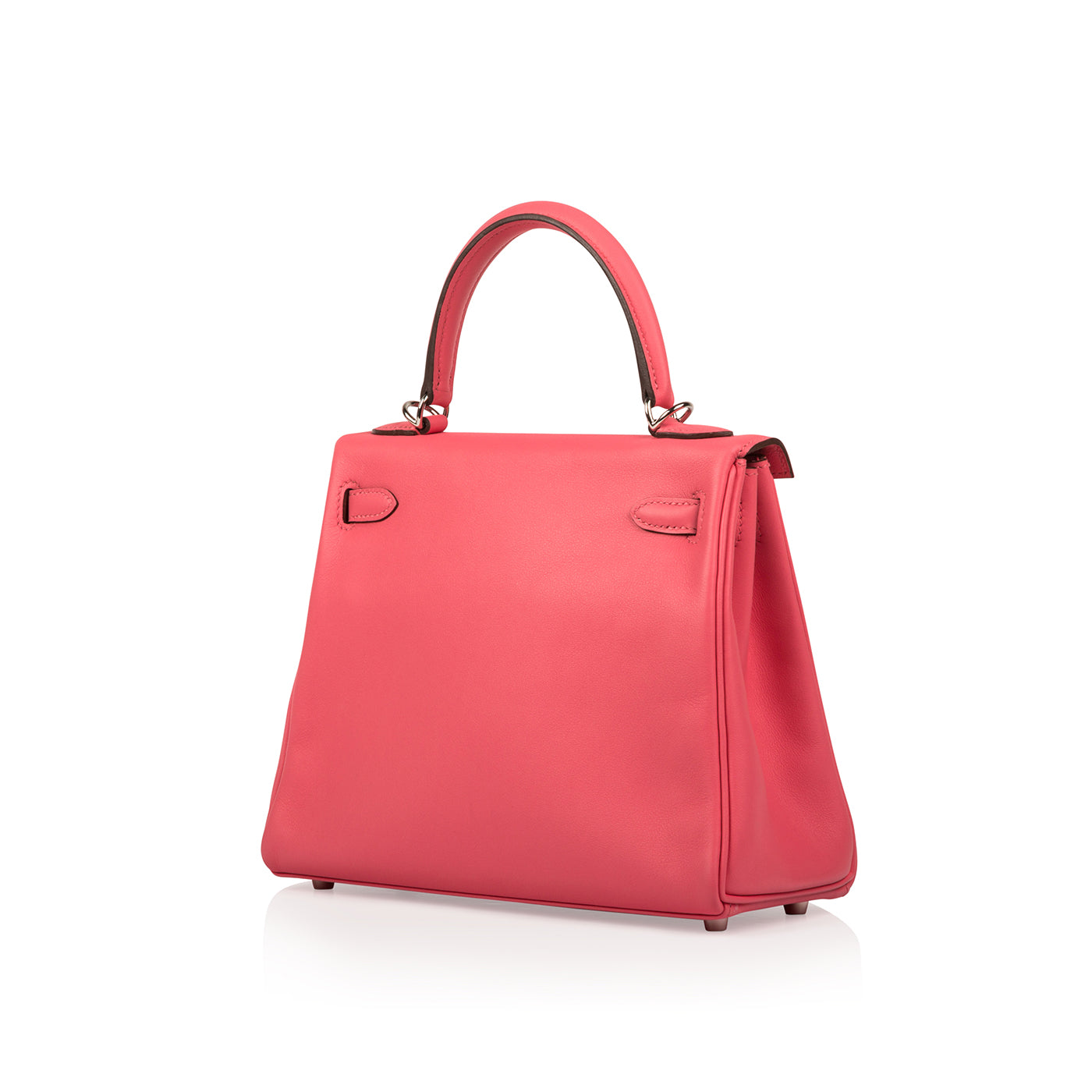 b1920ade8a51 Hermès - Kelly 25 - Rose Azalee Swift - Palladium Hardware - New ...