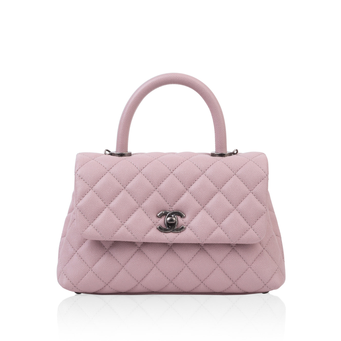 59956bdfcf21b5 Chanel Coco Handle Mini Pink | Bagista