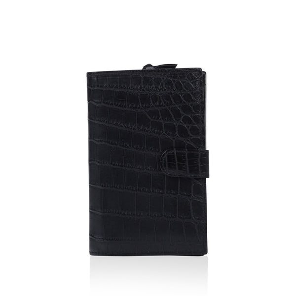 Nero Crocodile Wallet