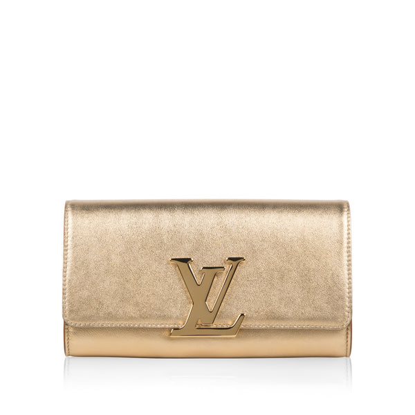 Gold Louise Clutch