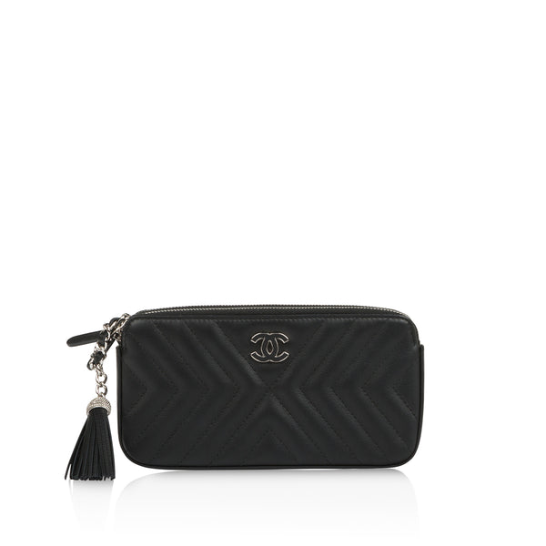 Chevron Clutch on Chain