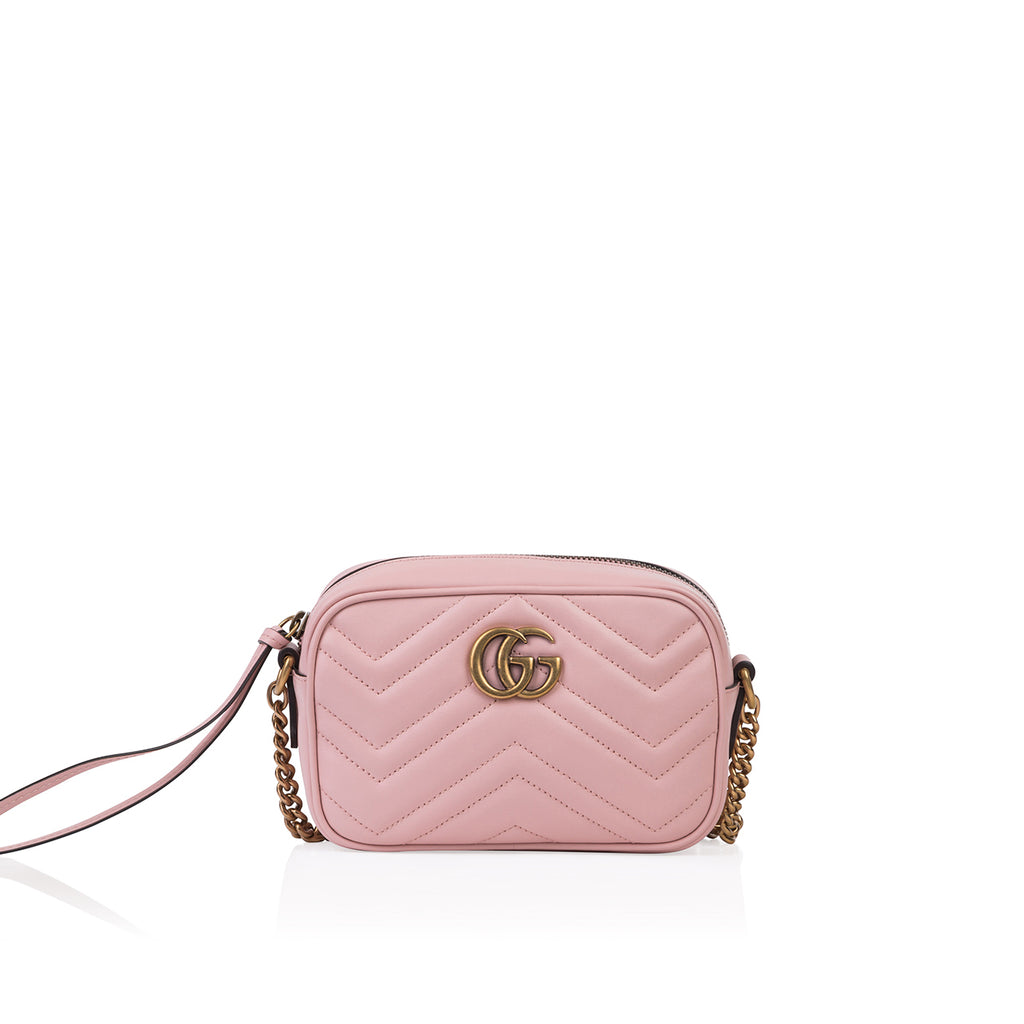 Mini Quilted Crossbody Marmont Bag