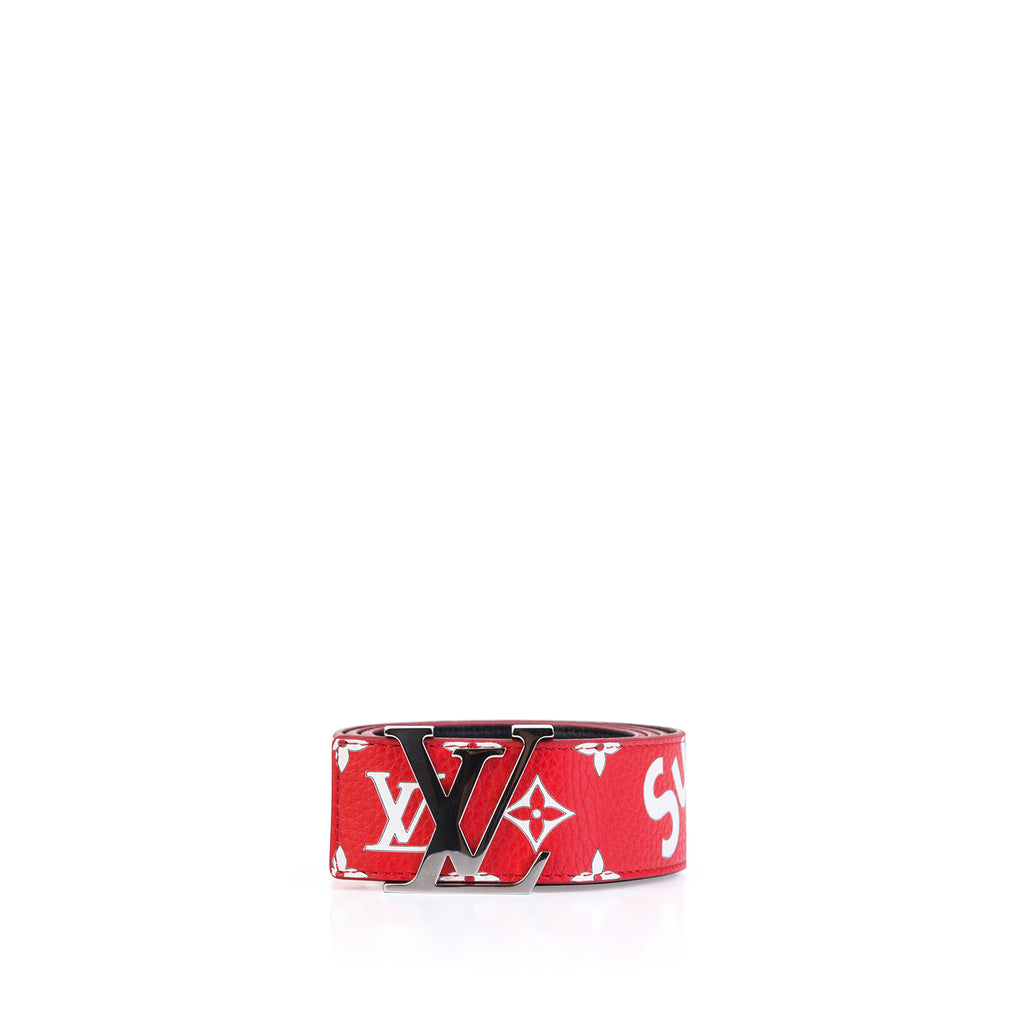 LV x Supreme Initiales 40MM Belt