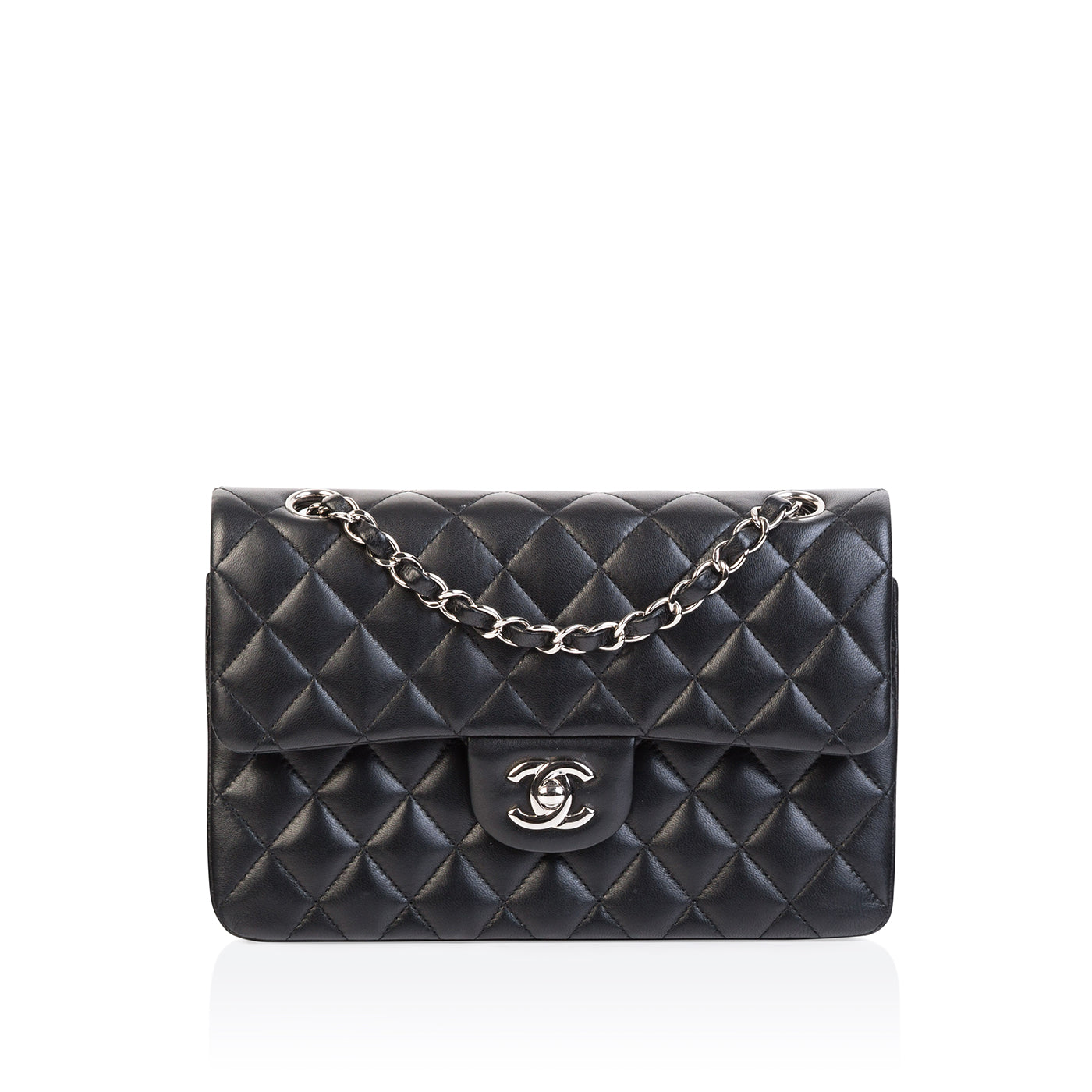 cb39601ce90d03 Chanel - Classic Flap Bag Small - Lambskin - SHW - Pre-Loved | Bagista