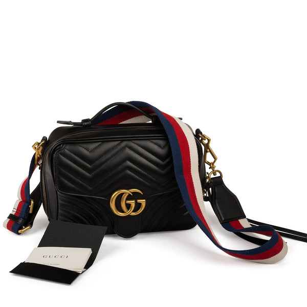 GG Marmont 2.0 Quilted Crossbody Bag