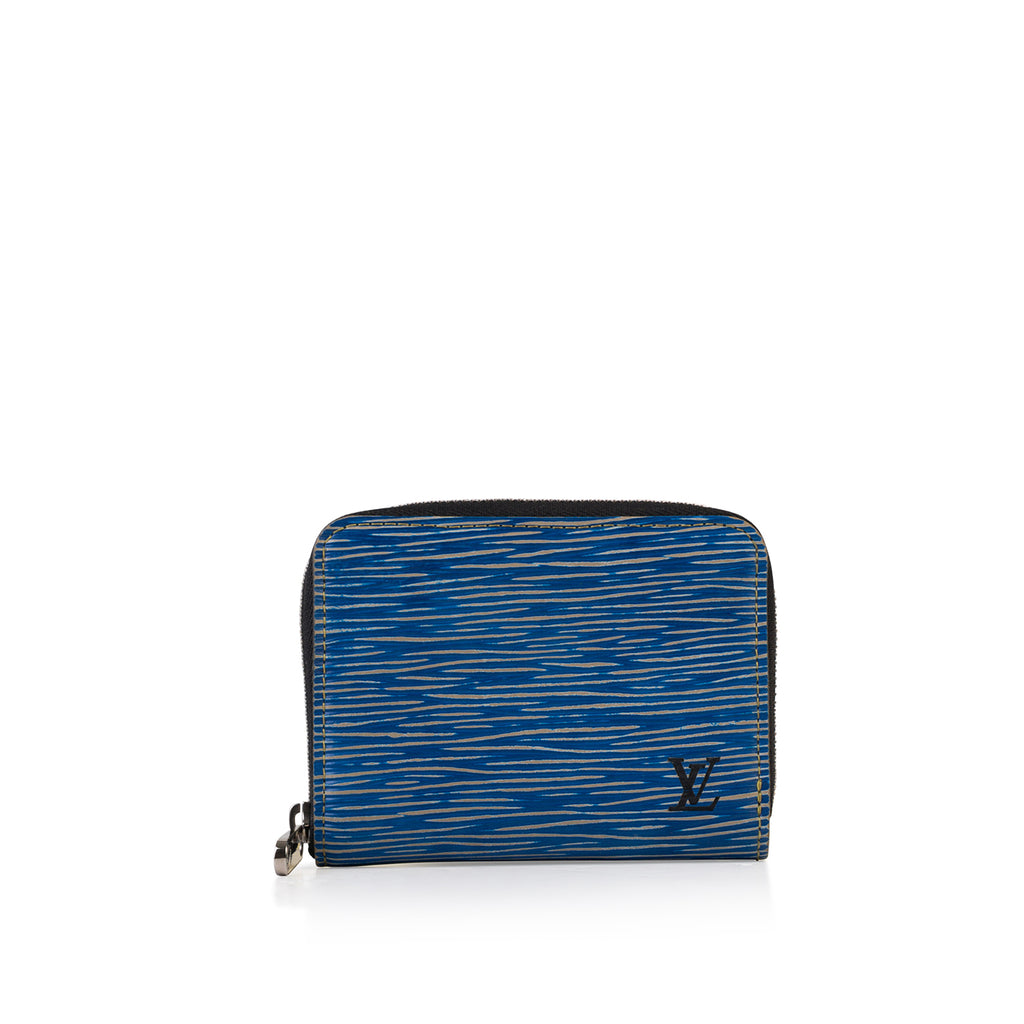 Zippy Wallet Denim Epi
