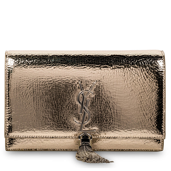 Metallic Kate Tassel Bag