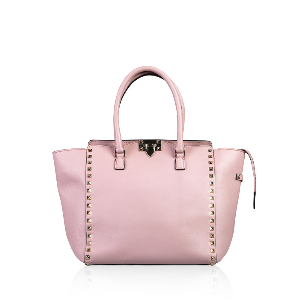 Rockstud Medium Square Shopper