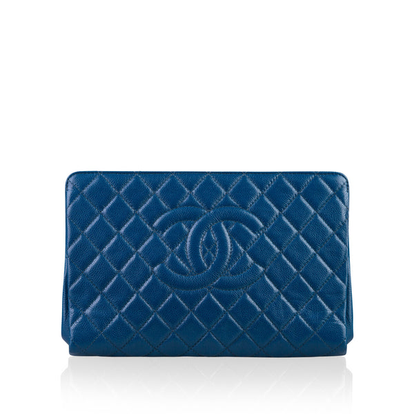 Quilted CC Clutch