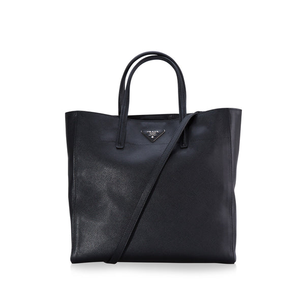 2 Way Saffiano Vernice Briefcase