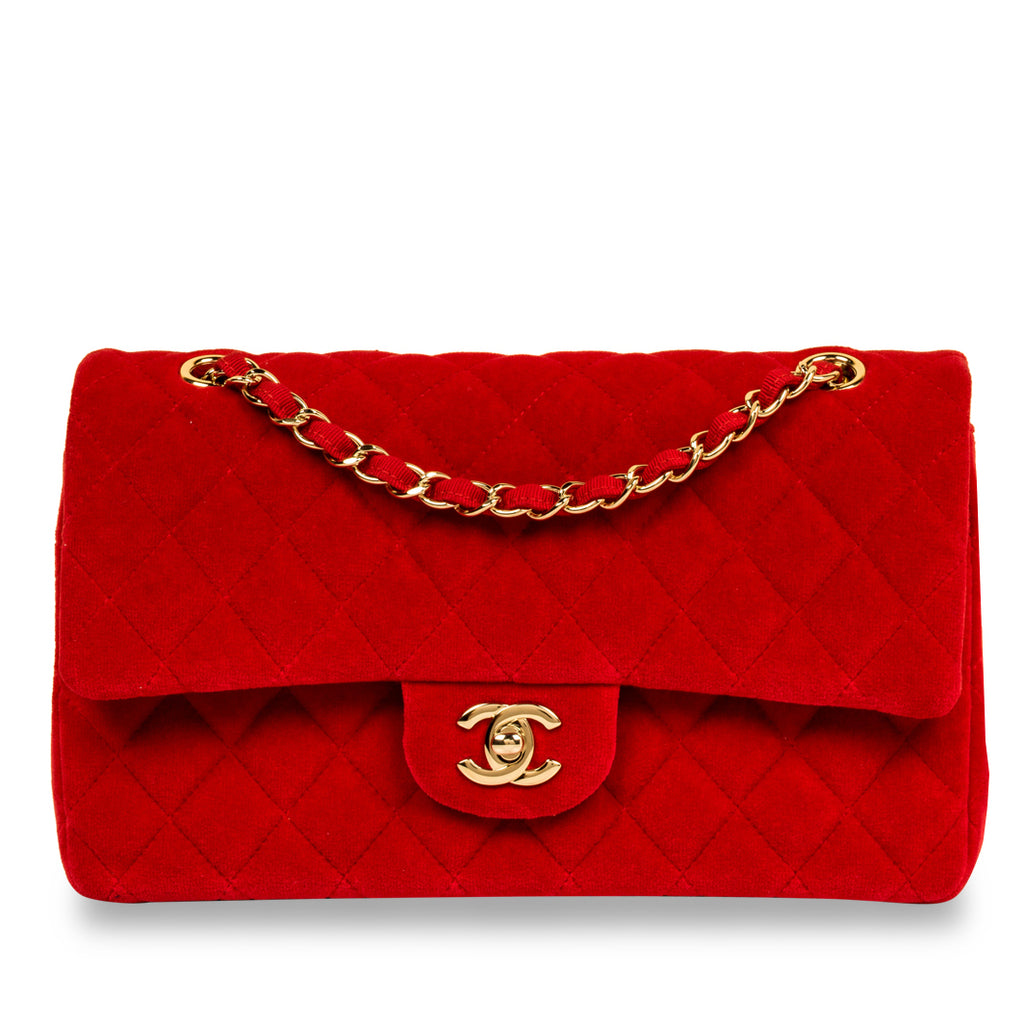 Classic Flap Bag - Medium - Velvet