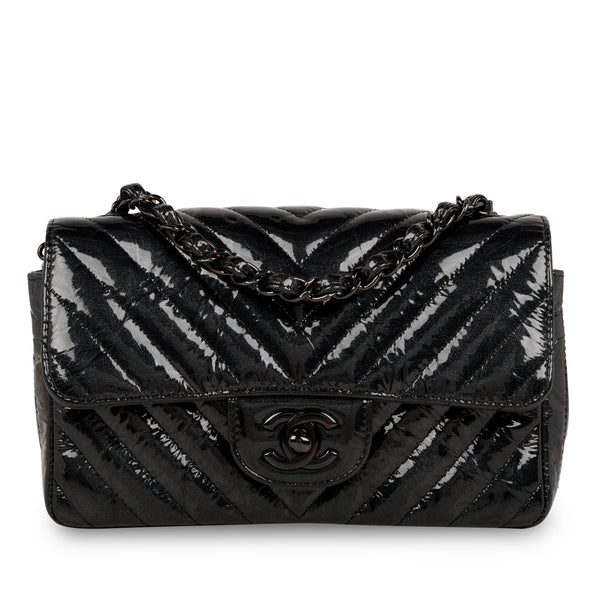 Classic Flap Bag - Mini Rectangular - So Black