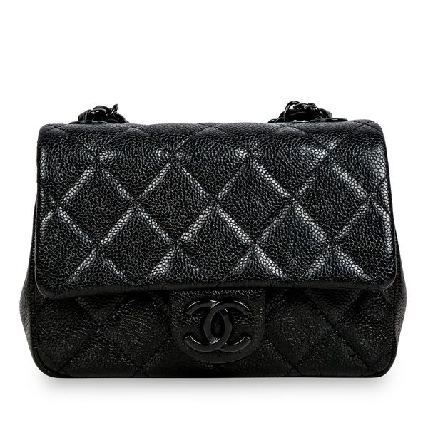Incognito Mini Flap Bag - So Black