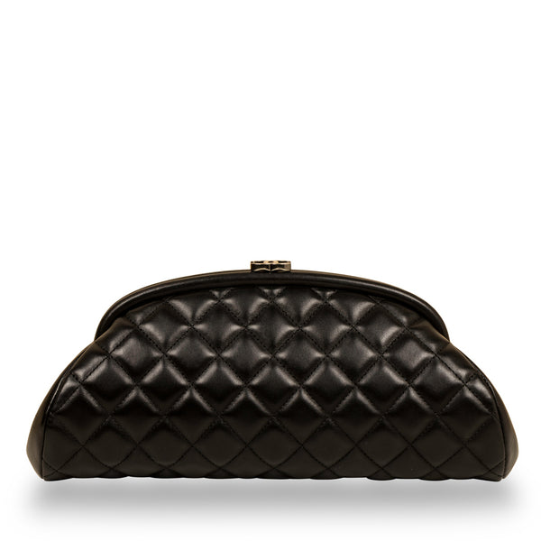 Timeless Half Moon Clutch