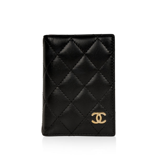Quilted Lambskin Cardholder