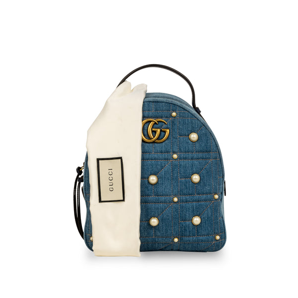 Denim Marmont Pearl Backpack