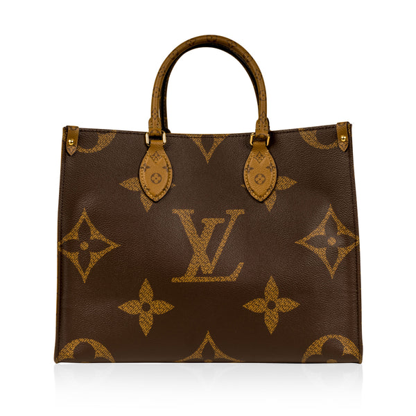 Onthego MM Tote - Giant Monogram Canvas