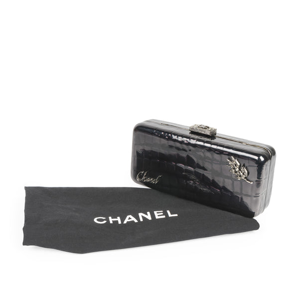 Minaudière Runway Clutch on Chain