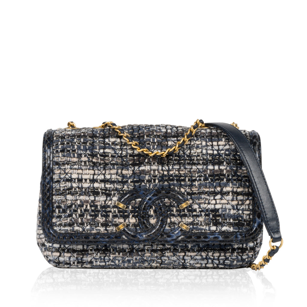 Filigree Flap Bag
