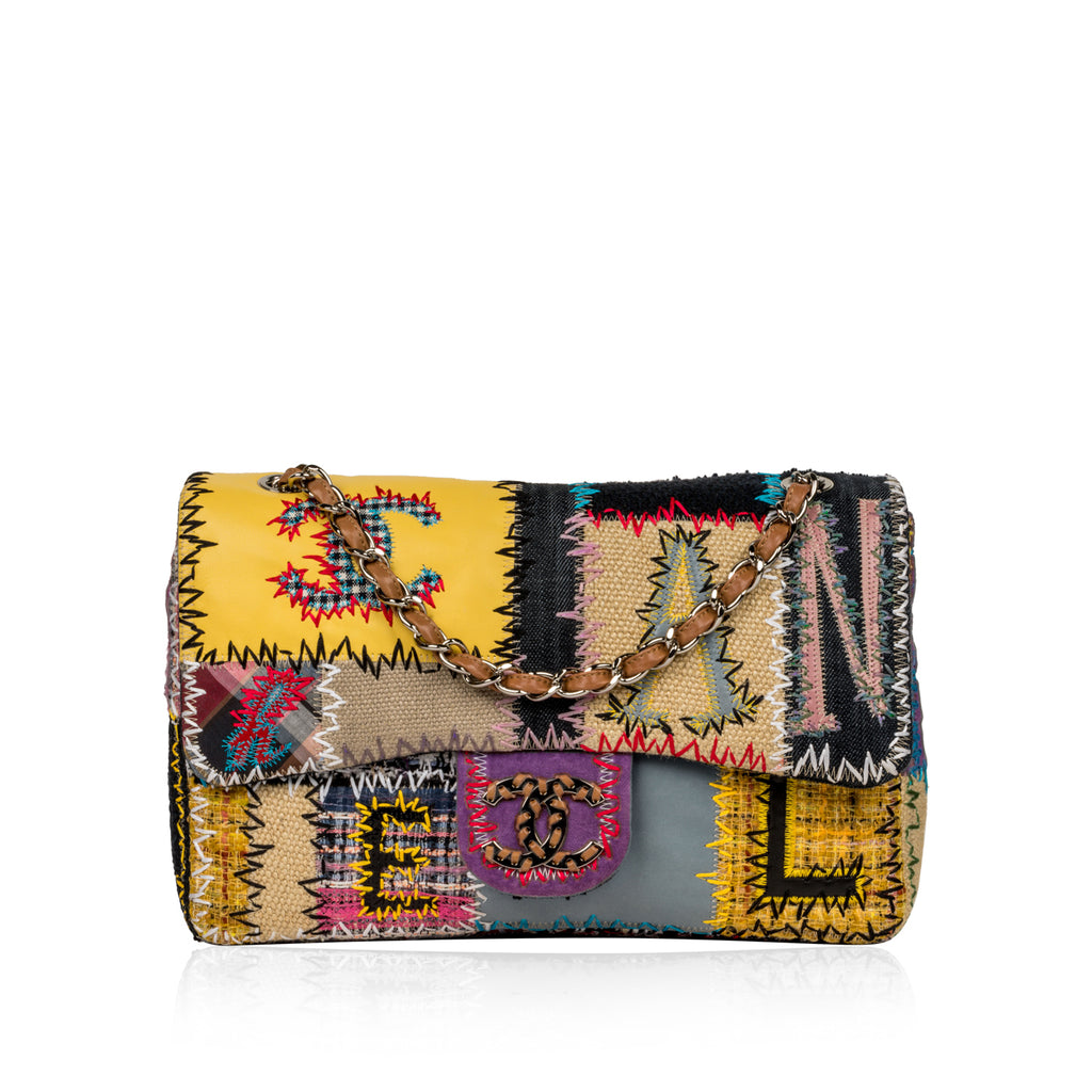 Patchwork Jumbo Classic Flap Bag