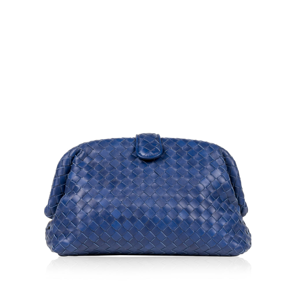 Blue Lauren Clutch