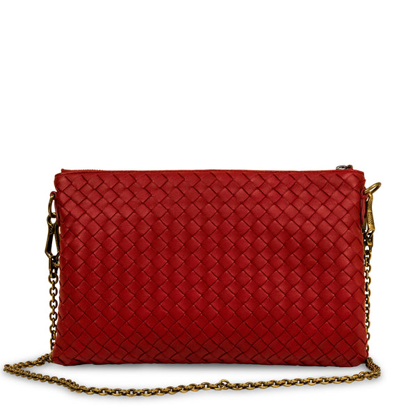 Intrecciato Clutch on Chain