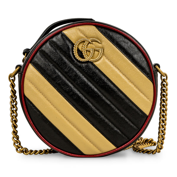 GG Marmont Circular Shoulder Bag