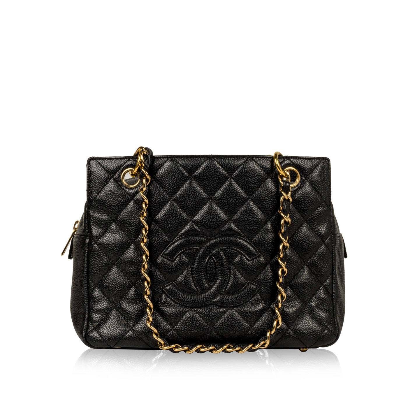 abef44f8815 Chanel - Petite Timeless Tote - PTT - Caviar Leather - Pre-Loved ...