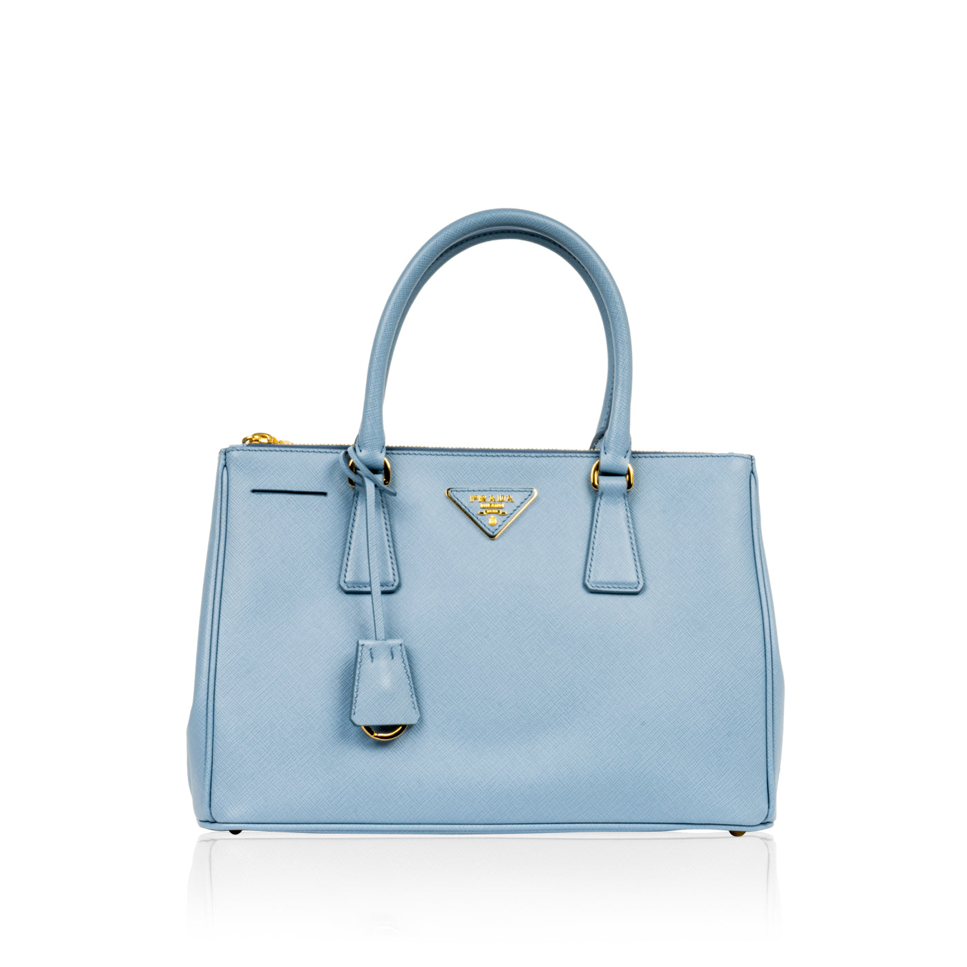 c952fe23328331 Prada - Galleria - Baby Blue - New | Bagista